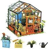 Rolife 3D DIY Modelo de casa de muñecas con Luces Miniatura de Madera Kits de Muebles niñas-niños 14 15 16 17 18 años de Edad hasta Juguetes(Cathys Flower House)