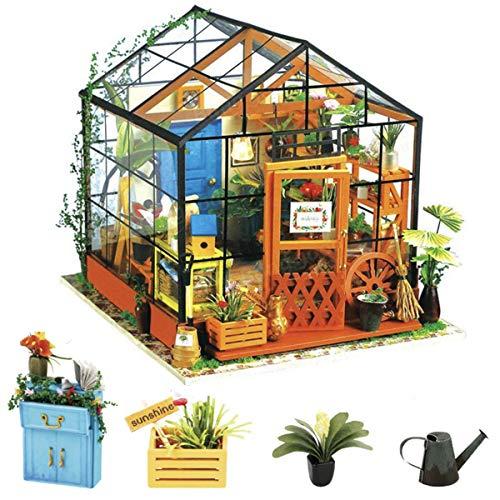 Rolife 3D DIY Modelo de casa de muñecas con Luces Miniatura de...