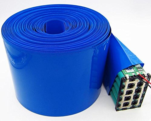 DIY Battery Pack PVC Heat Shrink Wrap Tube Length 3M Width 250±5MM for Big Battery Pack Power