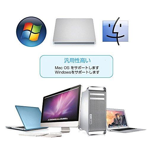 『Patech USB2.0ポータブルCD RWドライブ スロット設計 Apple Mac Book Air Pro/windows 対応』の5枚目の画像