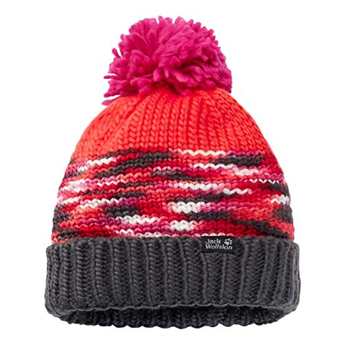 Jack Wolfskin Hopewell Rocks Casquettes Femme, Orange Coral, FR : L (Taille Fabricant : L)