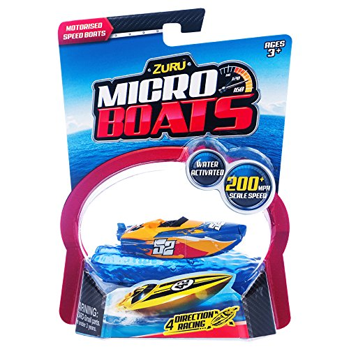 Zuru - MICRO BOATS Barcos de agua de 4 direcciones - Color