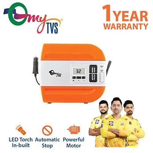 myTVS TI-3 Auto Stop Cut-off Digital Car Tyre Inflator Air compressor 1 Yr Warranty