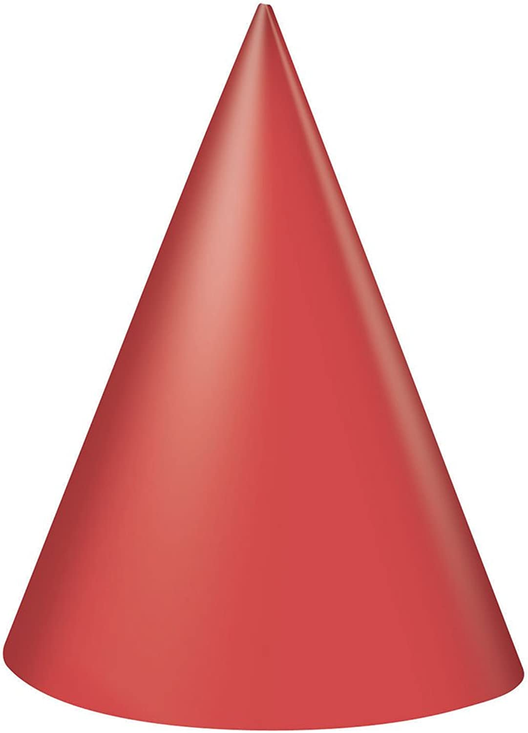Party Hats  Red (8) for Party Favour
