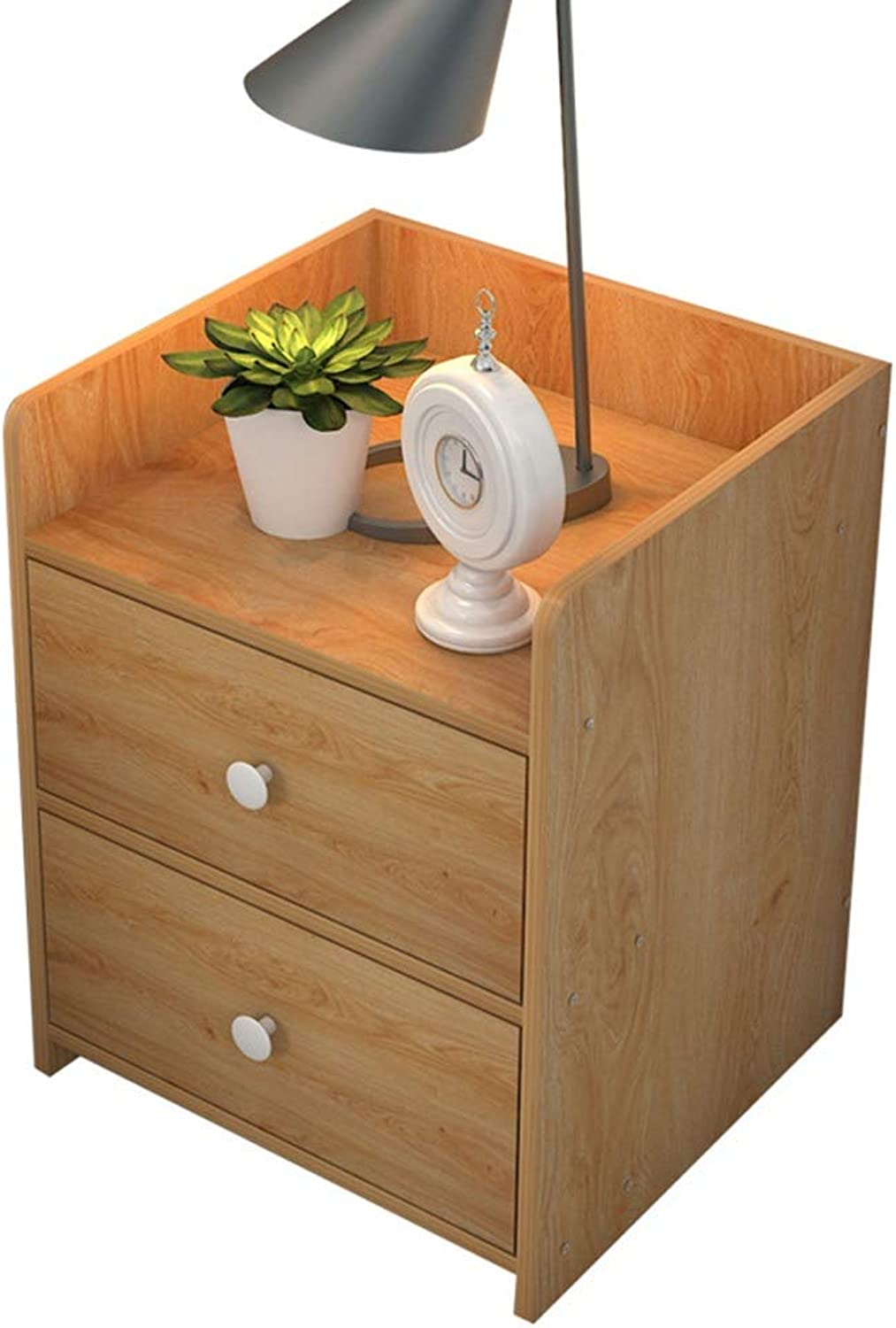 Sububblepper Bedside Table Simple Small Cabinet Storage Cabinet Bedroom Side Cabinet Storage Cabinet (color   1)