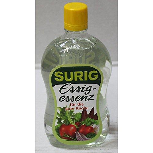 SURIG Essigessenz mit 25% Säure (400g Flasche)