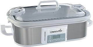 Crock-Pot SCCPCCP350-SS Programmable Digital Casserole Crock Slow Cooker, 3.5 quart, Stainless Steel