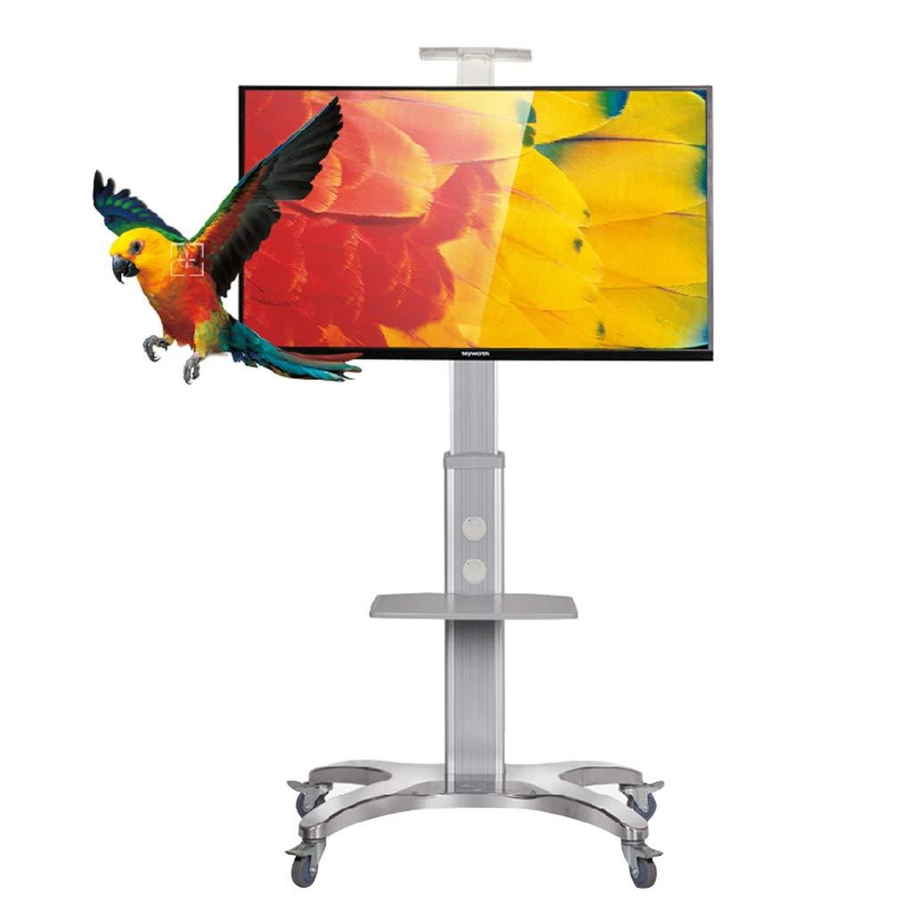DSJDZ Universal Mobile for TV de TV Stand Altura Ajustable Base de Aluminio del Soporte for TV 32-65in: Amazon.es: Hogar