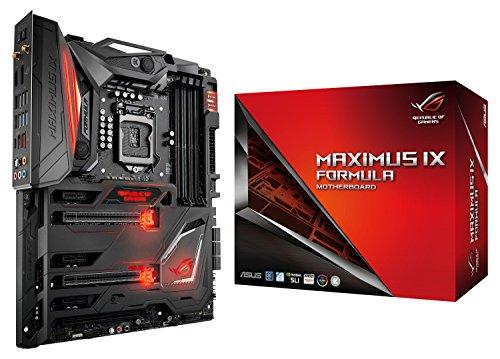 Asus ROG Maximus IX Formula Gaming Mainboard Sockel 1151 (ATX, Intel Z270, Kabylake, 4x DDR4-Speicher, USB 3.1, M.2 Schnittstelle)