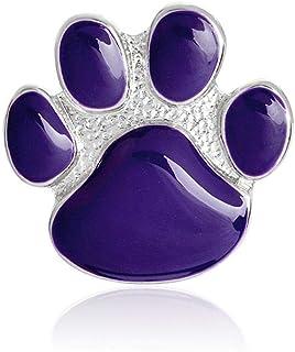 PULABO - Broches para mujer, diseño de perro con dibujos animados y patas, para ropa, bolsa de sombrero, cómodo y respetuo...