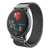 HQHOME Fitness Armband Uhr, Smartwatch Fitness Tracker mit Pulsmesser Wasserdicht IP67 Fitness Uhr, Blutdruck und Schlafmonitor, Pulsuhr Schrittzähler Uhr für Damen Herren