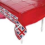 BRITISH PARTY TABLECOVER - Party Supplies - 1 Piece