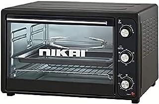 Nikai NET50RCB Electric Oven, 50 Liters - Black