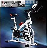 SHDS Bicicleta de Ejercicio Profesional para Interiores |Bicicleta de Interior |Equipo de Ejercicios, con Botella Deportiva y Dispositivo de Ajuste de Resistencia