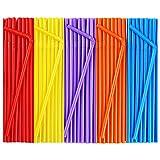 CVNDKN 500 Pcs Colorful Flexible Disposable...