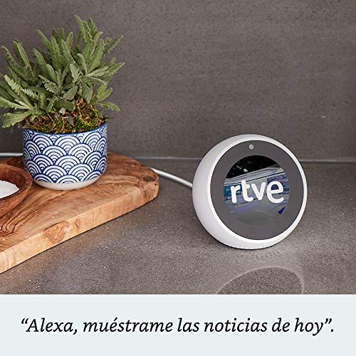 Amazon Echo Spot - Altavoz inteligente con pantalla que se conecta a Alexa