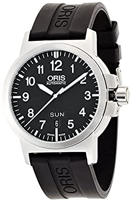 Oris watch BC3 Advanced Day Date rubber 735 7641 4164R men's [regular imported goods]