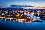 DesFoli Koblenz Deutschland Skyline Stadt Poster Kunstdruck