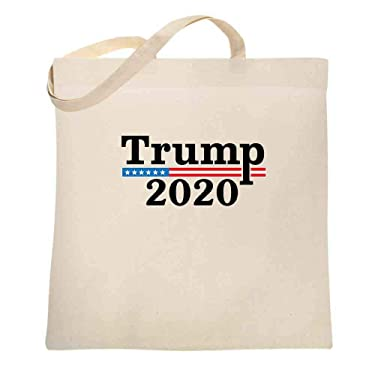Donald Trump 2020 Pro Trump MAGA Merchandise USA Large Canvas Tote Bag Women