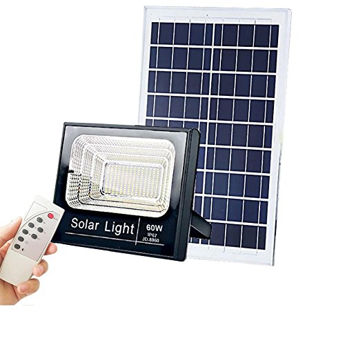 Projecteur extra plat LED Solaire Blanc Froid de 10W,25W,40W,60W,100W,200W au choix étanche (IP65) - 60W/2520Lms