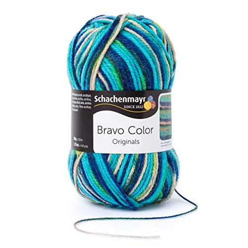 Schachenmayr Bravo Color, 9801421-02119, couleur: Fresh, Fils à tricoter