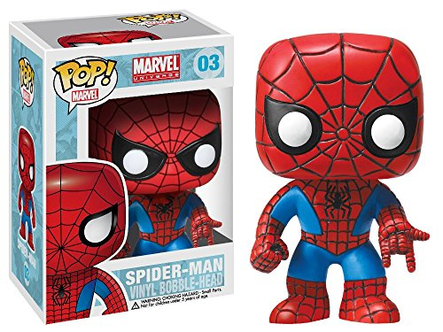 Pop Marvel: Spiderman Homecoming - Peter Parker #224, Funko, Multicolorido, Pequeno