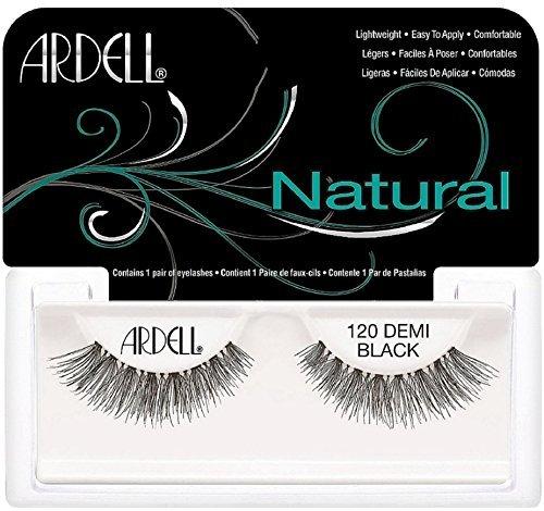 Ardell Fashion Lashes Natural Strip Lash, Demi Black [120] 1 ea by Ardell