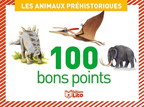 Boîtes de 100 bons points: Les animaux préhistoriques - Dès 5 ans