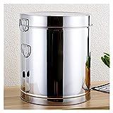 XYSQ Caja De Almacenamiento Doméstico De Cocina 5-100kg - Cubo para Almacenar Arroz - Té De Café Y Botes De Azúcar - Tanque De Barril De Fermentación Transportable con Tapa Sellada (Size : 5kg)