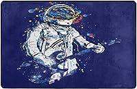 宇宙宇宙飛行士スーパーソフトインドアモダンエリアラグふわふわラグダイニングルームホームベッドルームカーペットフロアマットベビーキッズ犬猫60x39インチ-60x39インチ