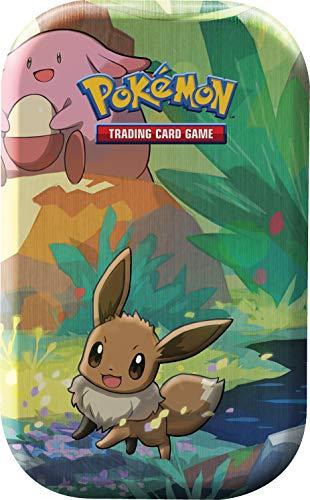 Unbekannt Pokemon - Kanto-Freunde Mini-Tin-Box - Evoli - 1 Box - Deutsch