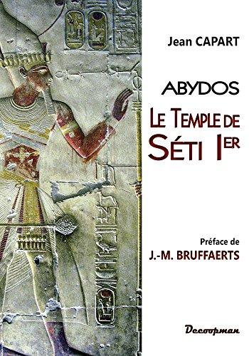 Le temple de SETI 1er PDF Books