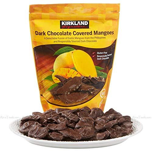 KIRKLAND SIGNATURE カークランド シグネチャー ドライマンゴー&ダークチョコレート 550g