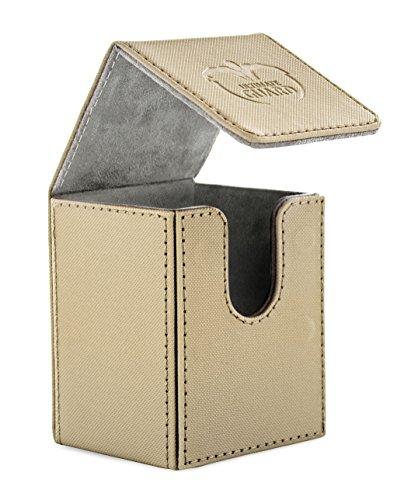 Ultimate Guard UGD010392 - Flip Deck Case 100+ Standardgröße Xeno Skin, Sand