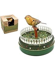 Juguete Decorativo de Hojalata PÁJARO CANTADOR Animales de Cuerda. Juguetes y Juegos de Colección. Regalos Originales. Decoración Clásica.