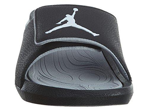 Nike Mens Jordan Hydro 6 Black Grey Synthetic Sandals 42.5 EU