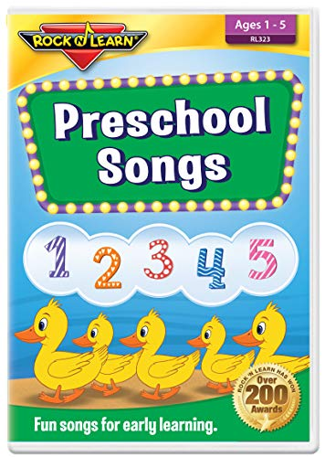 ROCK N LEARN Preschool Songs DVD - Fun Songs for Early Learning.