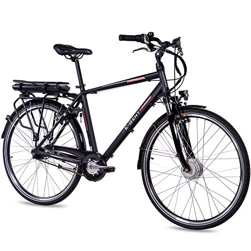 CHRISSON Bicicleta eléctrica E-Gent de 28 pulgadas, para hombre y trekking, color...