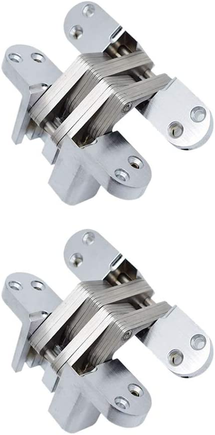xintian 2pcs 1360mm Stainless Steel Hidden Outlet sale feature Shipping included Built-in Conce Hinges