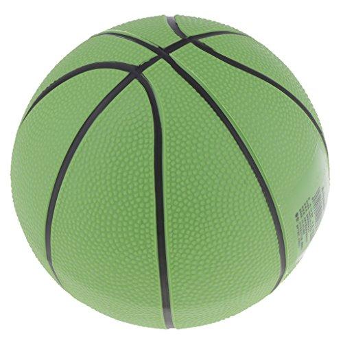 Amagogo 8.5 '' Juguete Inflable Plástico del Partido de La Playa de La Piscina de Los Niños de La Bola de Playa del Baloncesto - Verde