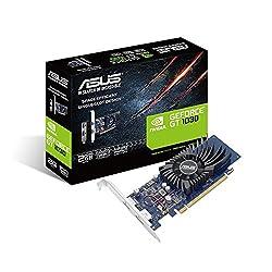 ASUS Nvidia GT1030 2GB BRK Low Profile Gaming Grafikkarte (GDDR5 Speicher, PCIe 3.0, ,DVI, HDMI, Passiv, GT1030-2G-BRK)