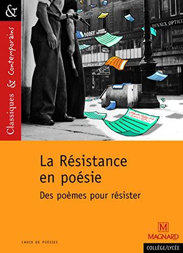 La Résistance en poésie : des poèmes pour résister