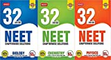 Combination of MTG 32 Years solved papers for NEET (Bundle of 3 Books) Physics, Chemistry, Biology