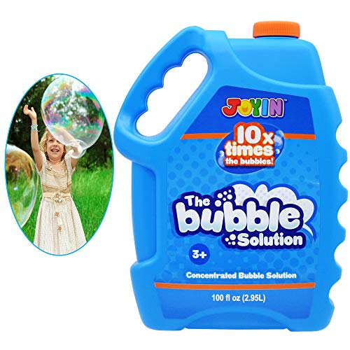 JOYIN 100 Oz Concentrated Bubble Solution (up to 8 Gallon) for Large Summer Party Celebrations, Party Favor, Bubble Summer Toy, Classroom Prizes, Easter