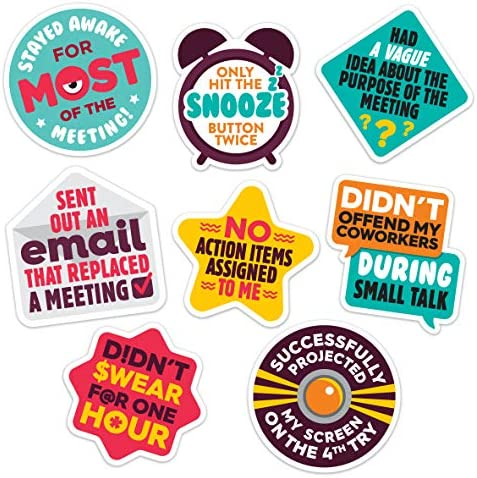 Work Merit Stickers Reward Office Adulting Funny Office Gifts Funny Gifts for Coworkers Perfect product image