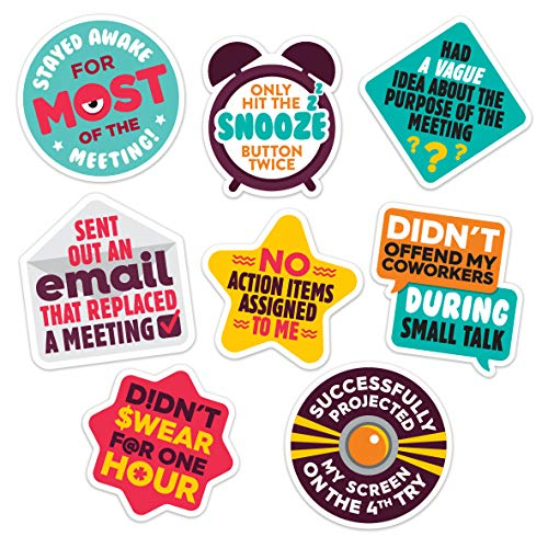 Work Merit Stickers - Reward Office Adulting - Funny Office Gifts - Funny Gifts for Coworkers -...