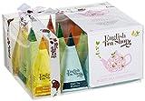 Teegeschenk 'Weißer Tee Kollektion' mit Schleife, 12 Pyramiden-Beutel 4 verschiedenen...