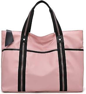 Laptop Tote Bag,Womens Lightweight Water Resistant Nylon Tote Bag Shoulder Bag