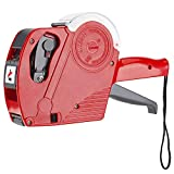 Dispensador de pegatinas manual color rojo