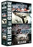 4 films de guerre : 1945 - End of War + Starfighter + Gallipoli - La bataille des Dardanelles + Alliés [Francia] [DVD]